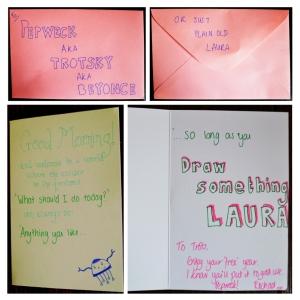 rachael's card