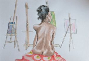 Four Easels