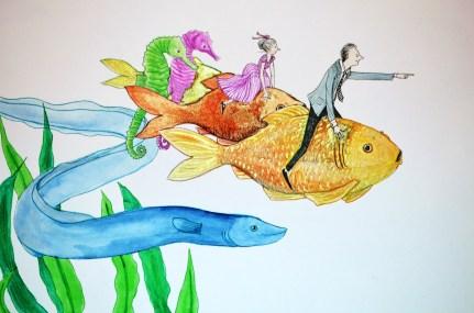 Fish-back Riding