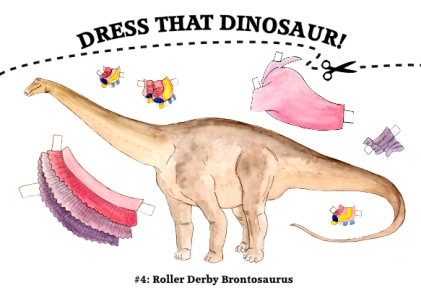 Dress That Brontosaurus!