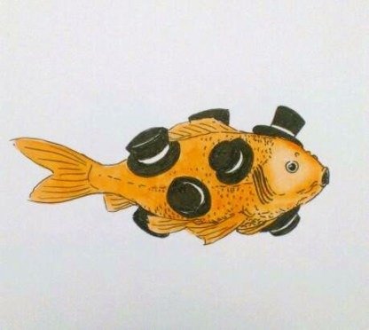 Animals in Hats: Fish