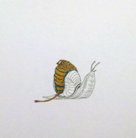 Animals in Hats: Snail