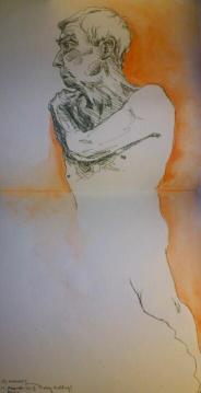 Sketch with Orange
